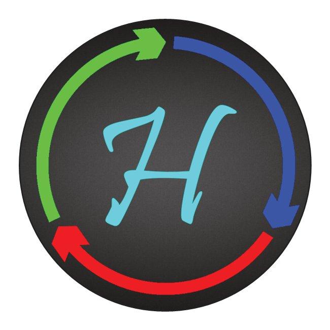 Hibblejaybob Logo Sticker