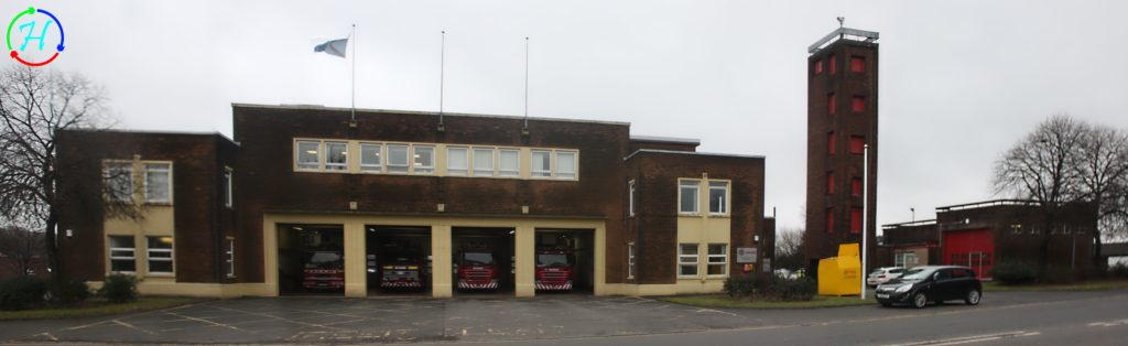 2017.02.21 - Coatbridge Fire Station Visit