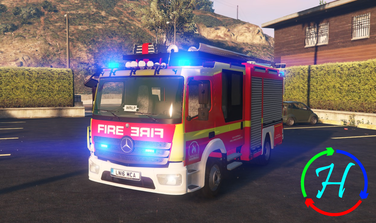 2017.05.12 - SAFRS New Mercedes Atego by TopMods!